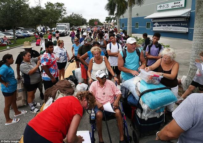 7 ngày qua ảnh: Người dân Mỹ xếp hàng dài chờ vào nơi sơ tán tránh bão Irma - Ảnh 4.
