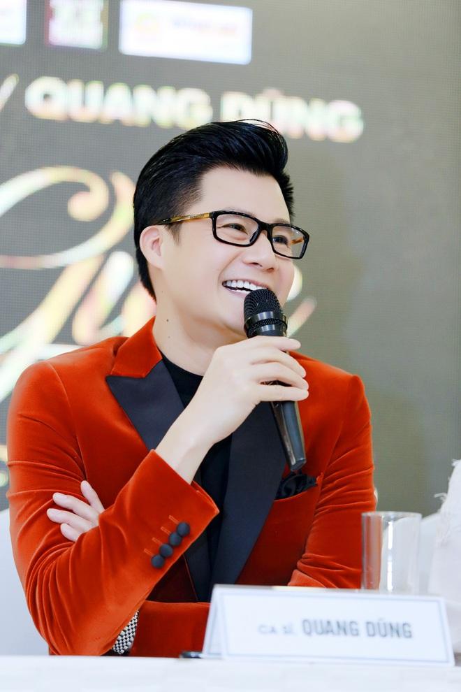 Quang Dũng nhắc đến con trai khi bị hỏi chuyện tái hôn - Ảnh 1.