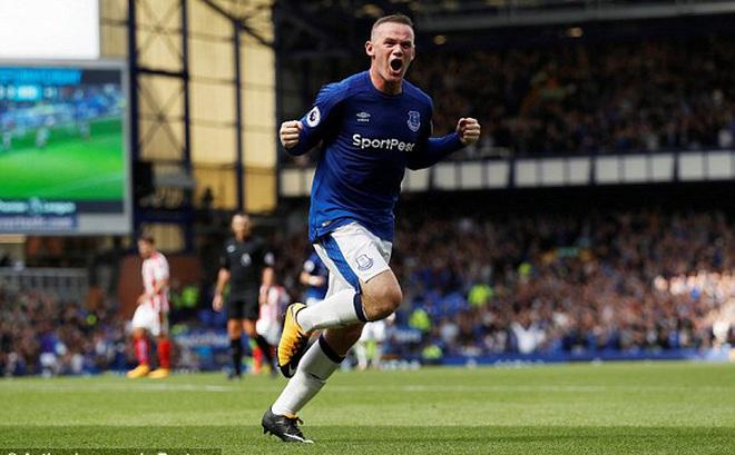 Rooney ghi bàn duy nhất, Everton giành trọn 3 điểm ngày ra quân Premier League