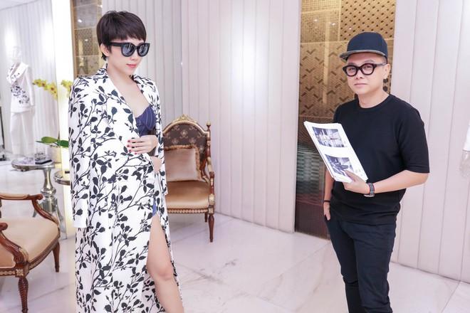 Tóc Tiên háo hức thử đồ để diễn tại MAMA 2017 - Ảnh 7.