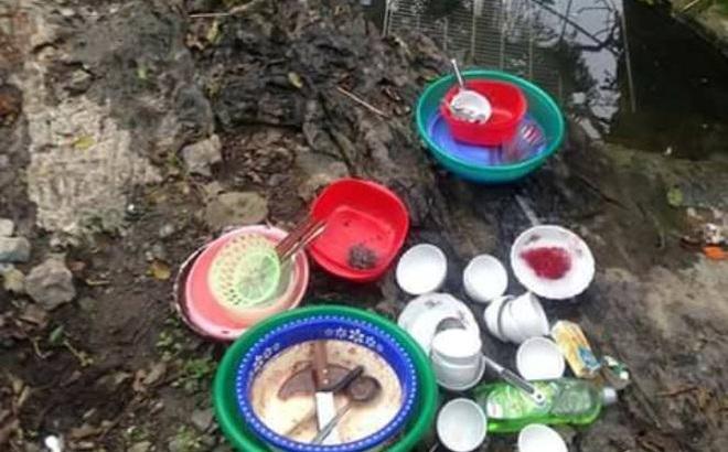 Trưởng ban quản lý di tích bác tin dùng nước cống rửa bát ở chùa Hương