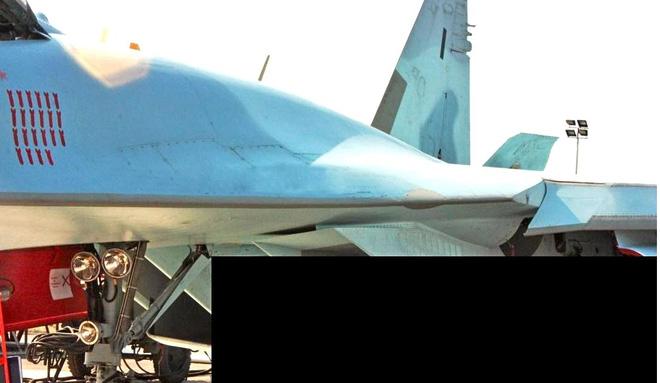 Bí mật không ngờ về những ngôi sao trên tiêm kích Su-35S: Kẻ nào bị bắn hạ tại Syria? - Ảnh 1.