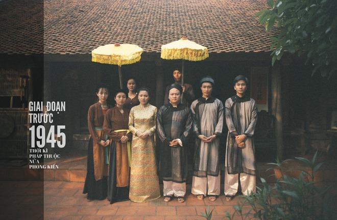 Bộ ảnh 100 năm đám cưới Việt Nam khiến người xem vừa lạ vừa quen - Ảnh 1.