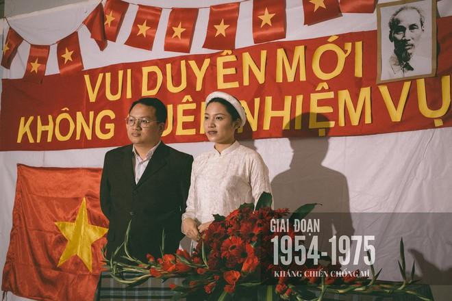 Bộ ảnh 100 năm đám cưới Việt Nam khiến người xem vừa lạ vừa quen - Ảnh 5.