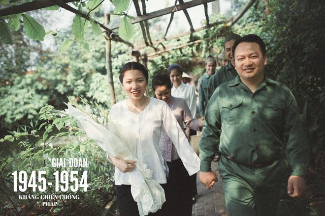 Bộ ảnh 100 năm đám cưới Việt Nam khiến người xem vừa lạ vừa quen - Ảnh 3.