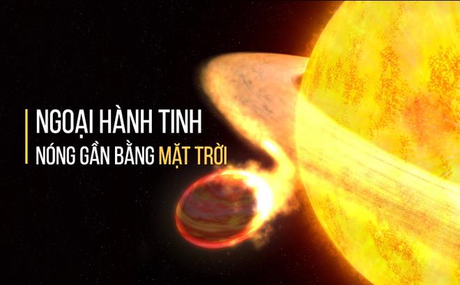 Vừa phát hiện ngoại hành tinh nóng nhất vũ trụ, chạm ngưỡng 4.327°C