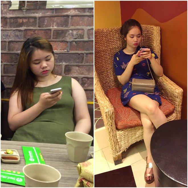 Gặp lại sau 2 tháng giảm cân, cô gái Hà Thành khiến bao người kinh ngạc - Ảnh 3.