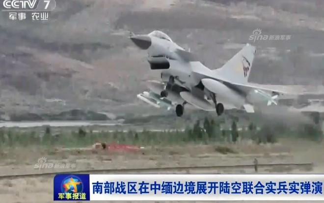 J-10 Trung Quốc ào ạt oanh kích khu vực biên giới giáp Myanmar trong tình hình nóng - Ảnh 4.