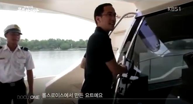 Biệt thự dát vàng và dàn siêu xe hoành tráng của bố chồng Hà Tăng lên sóng truyền hình Hàn Quốc - Ảnh 12.