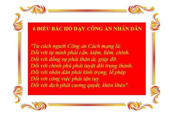 Công an nhân dân thực hiện lời dạy của Bác Hồ trong văn hóa ứng xử - Ảnh 3.