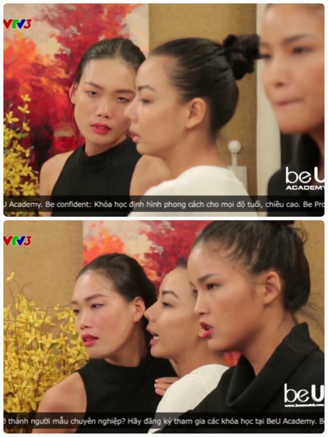 Clip hé lộ chuyện Hồng Xuân bị đánh gẫy mũi sau trong Vietnams Next Top Model - Ảnh 2.