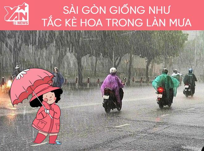 Những điều ý nghĩa về tình người chỉ có ở Sài Gòn vào những ngày mưa - Ảnh 1.