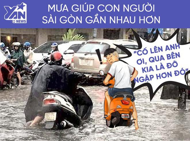 Những điều ý nghĩa về tình người chỉ có ở Sài Gòn vào những ngày mưa - Ảnh 4.