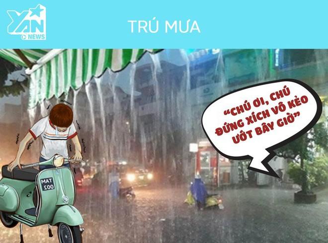 Những điều ý nghĩa về tình người chỉ có ở Sài Gòn vào những ngày mưa - Ảnh 2.