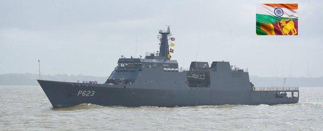Ấn Độ hoàn thành tàu tuần tra xa bờ đóng cho đối tác thân thiết - Ảnh 1.