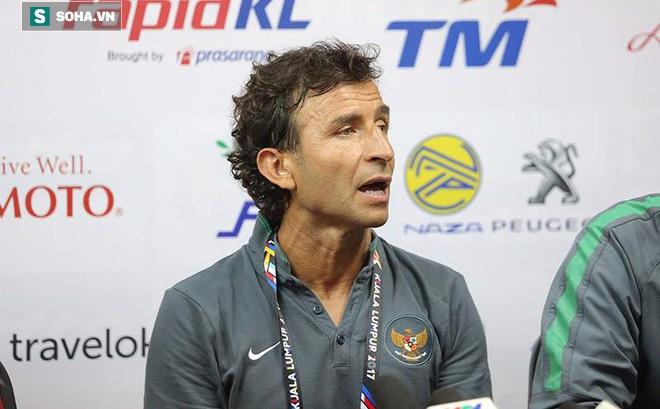 """HLV Indonesia """"hãnh diện ngời ngời"""", khen cầu thủ có điểm vì chơi tốt và quyết tâm"""