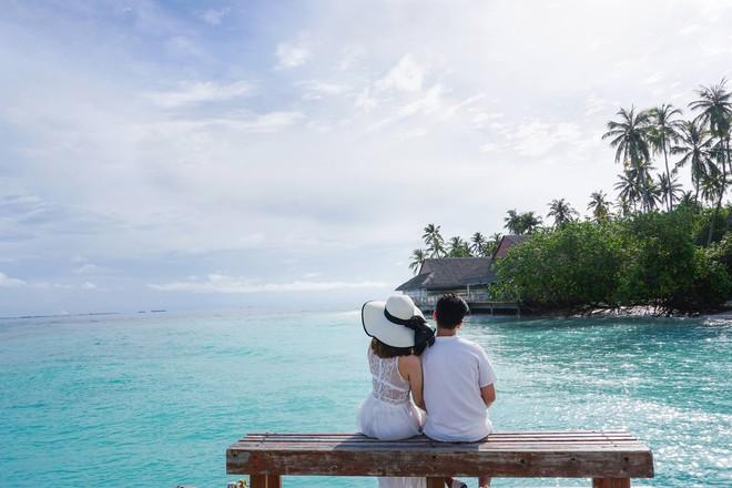"""Hường Chuối – Hotmom 9x cùng bạn trai giấu mặt ngao du """"Thiên đường Maldives"""" hết 85 triệu - Ảnh 18."""