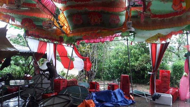 Quảng Trị: Nhà trai xắn quần, cắp dép vượt lũ đi đón dâu ngày mưa bão - Ảnh 6.