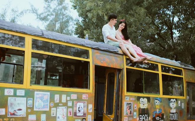 """Chuyện tình lãng mạn trên chuyến xe """"định mệnh"""" của cô giáo Quảng Trị cùng chàng kĩ sư"""