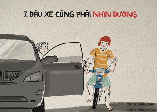 Lái xe thì ai cũng biết, nhưng lái xe văn minh thì không phải ai cũng làm được! - Ảnh 7.