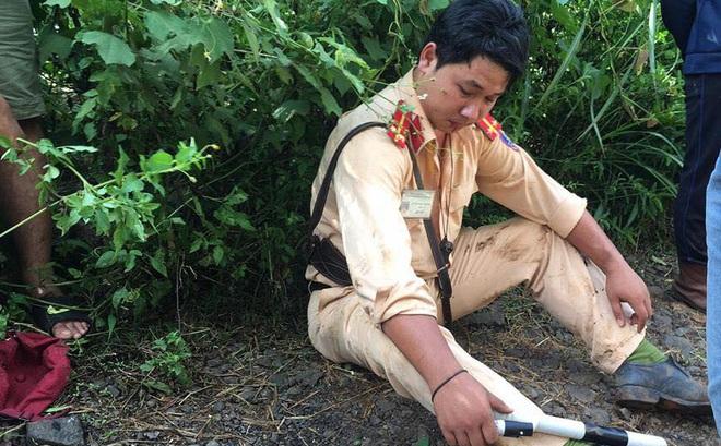 Đắk Lắk: Vi phạm giao thông, 2 thanh niên còn lao vào đánh Trung úy CSGT bị thương