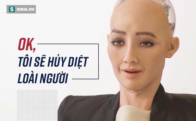 """Toàn bộ cuộc phỏng vấn nữ robot Sophia: """"Tôi cũng thấy sởn gai ốc..."""""""