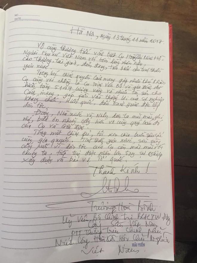 Tang lễ cụ Hoàng Thị Minh Hồ: Trưởng nam công khai di nguyện của cụ bà trước khi mất - Ảnh 12.
