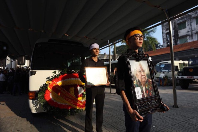 Tang lễ cụ Hoàng Thị Minh Hồ: Trưởng nam công khai di nguyện của cụ bà trước khi mất - Ảnh 1.