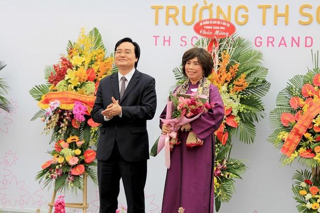 Bộ trưởng Phùng Xuân Nhạ: Tôi đánh giá cao và biểu dương tâm huyết của bà Thái Hương khi xây dựng TH School - Ảnh 3.