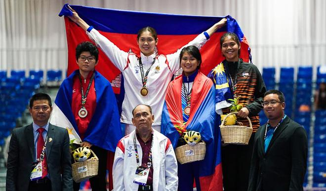 Chỉ có 3 HCV, Campuchia ăn mừng như thể vô địch SEA Games - Ảnh 2.