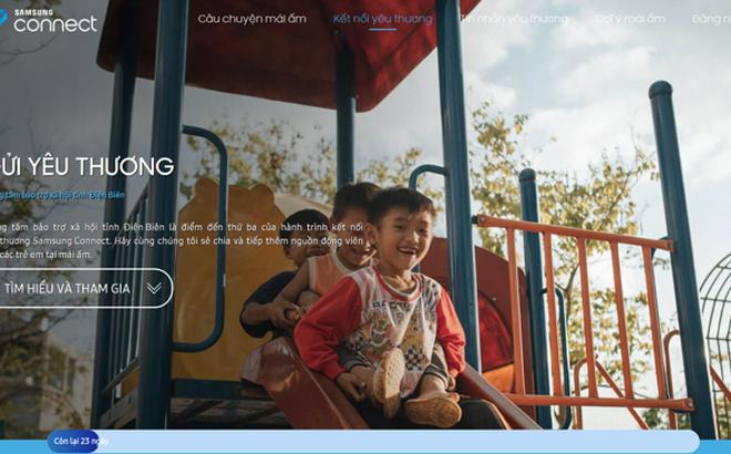 Samsung Connect truyền cảm hứng yêu thương