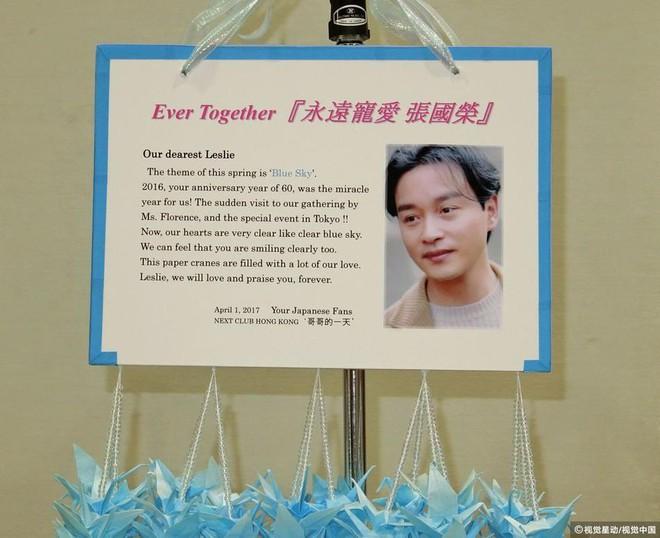14 năm qua đi, fan hâm mộ vẫn khóc vì thương nhớ Trương Quốc Vinh - Ảnh 4.