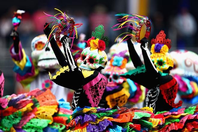 Ngày của Người chết - Lễ hội trên vùng đất vừa cướp đi sinh mạng của trăm người - Ảnh 4.