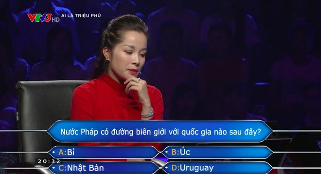 """Nữ chính """"Nhật ký Vàng Anh"""" gây tranh cãi khi thi """"Ai là triệu phú"""" - Ảnh 1."""