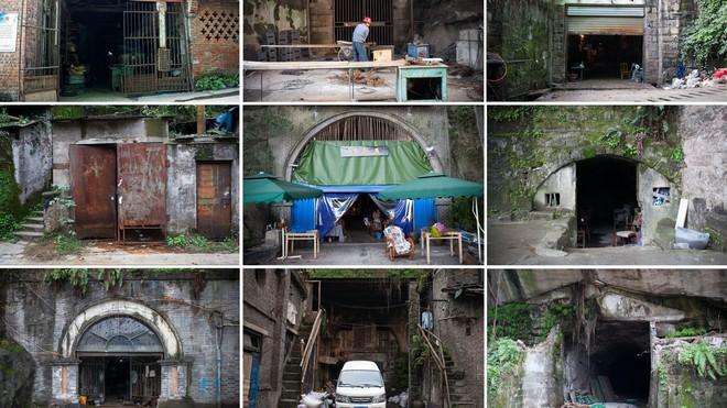 Cận cảnh cuộc sống bên dưới hầm trú bom trong thời bình ở Trung Quốc - Ảnh 1.