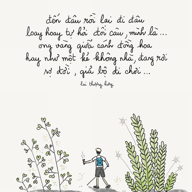 Cuốn nhật ký bằng thơ và tranh hoa lá cành của 8x khiến bao người tò mò muốn đọc - Ảnh 9.