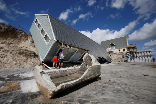 24h qua ảnh: Thủy quái kinh dị dạt bờ sau siêu bão Harvey ở Mỹ - Ảnh 6.