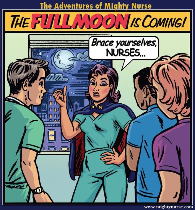 Tại sao các nhân viên bệnh viện rất sợ thứ 6 ngày 13 và các kỳ trăng tròn? - Ảnh 2.