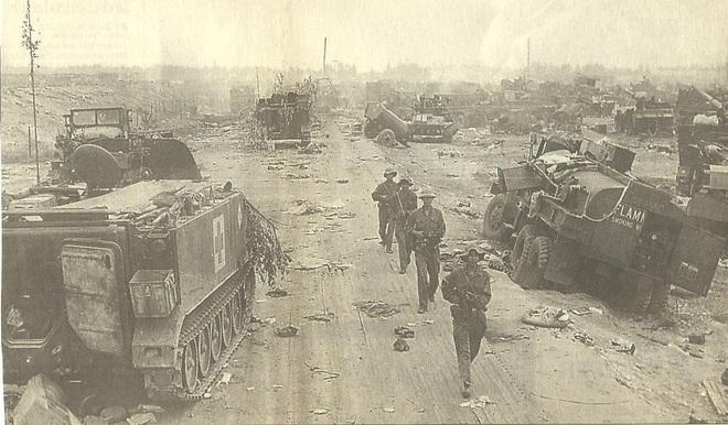 Cuộc truy kích vô tiền khoáng hậu và bãi chiến xa bỏ không bí ẩn ngoài thành Huế - Ảnh 4.