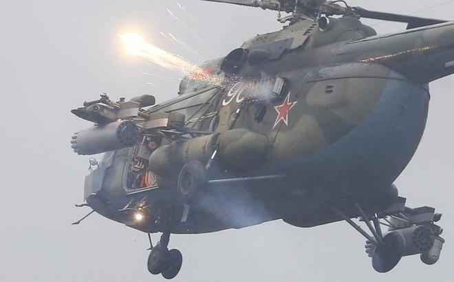 24h qua ảnh: Trực thăng Mi-8 khai hỏa trong cuộc tập trận Nga-Belarus - Ảnh 6.