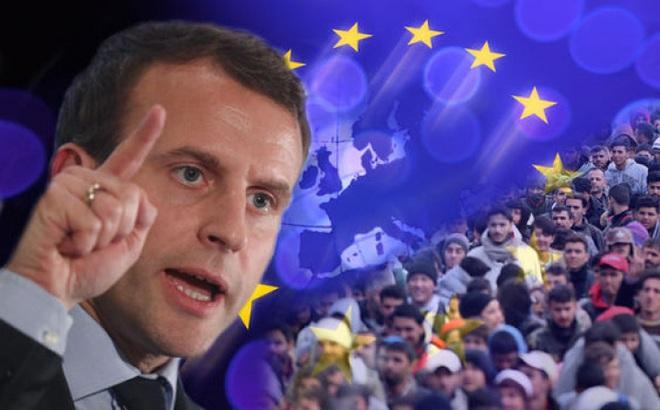 Ông Macron liệu có thể soán ngôi thủ lĩnh của bà Merkel ở châu Âu?
