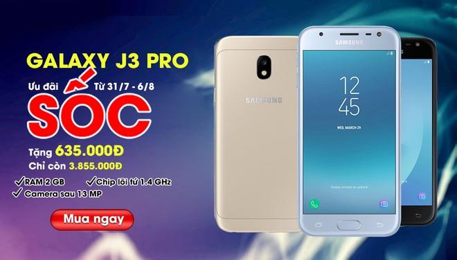 Tìm chỗ mua Samsung Galaxy J3 Pro? Lên ngay Nemo.vn để được giảm thêm 635.000 đồng - Ảnh 2.