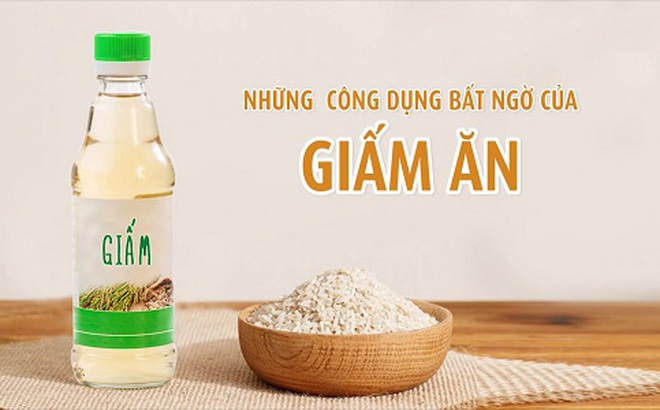 Image result for giấm ăn