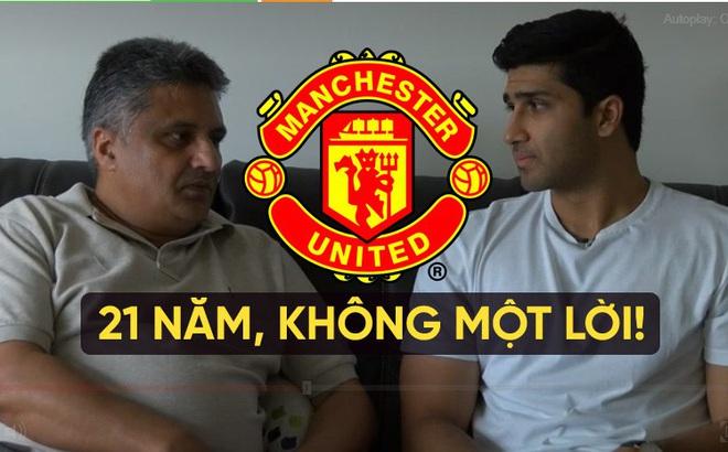 Bị cấm khoác áo Man United, thanh niên 21 năm không nói chuyện với cha