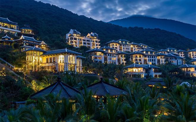 Nhìn từ trên cao địa điểm nghỉ ngơi tuyệt đẹp của các lãnh đạo APEC tại Đà Nẵng
