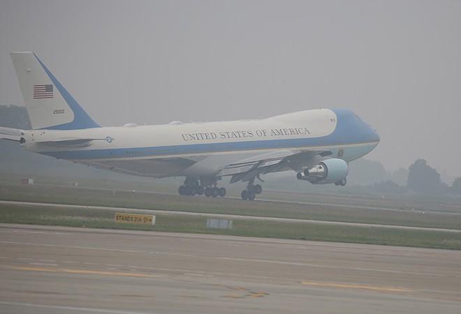 Kế hoạch bảo vệ chiếc Air Force One chở Tổng thống Donald Trump đến Nội Bài - Ảnh 2.