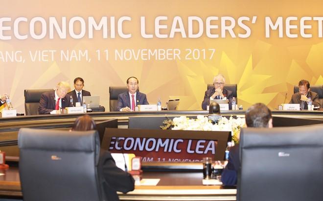 TOÀN CẢNH: Chủ tịch nước khai mạc Hội nghị các nhà Lãnh đạo kinh tế APEC - Ảnh 1.