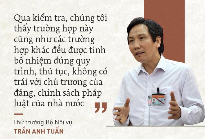 Những phát ngôn nói về việc bổ nhiệm ông Lê Phước Hoài Bảo là đúng quy trình - Ảnh 1.