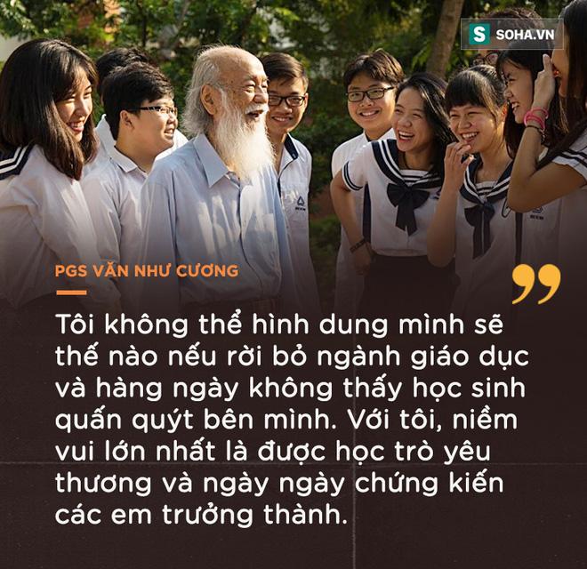 PGS Văn Như Cương: Học trò xem tôi như người bố, người ông nên tôi thấy mình đáng sống lắm - Ảnh 9.