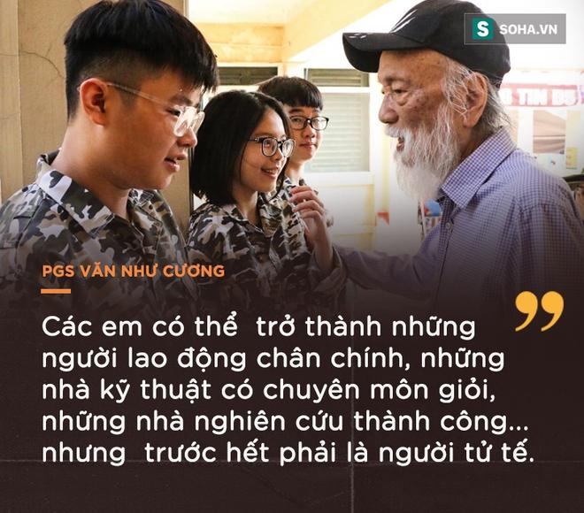 PGS Văn Như Cương: Học trò xem tôi như người bố, người ông nên tôi thấy mình đáng sống lắm - Ảnh 8.